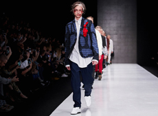 Artem Shumov FIFTH DAY OF THE NEW SEASON OF MERCEDES-BENZ FASHION WEEK RUSSIA