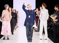 IVANOVA SECOND DAY OF THE NEW SEASON OF MERCEDES-BENZ FASHION WEEK RUSSIA